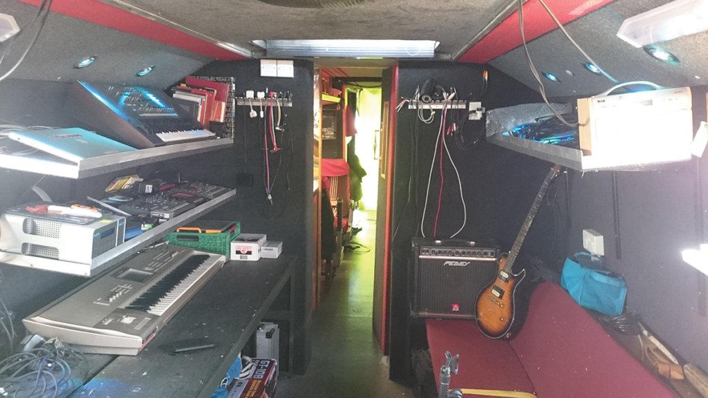 Studio on Bus