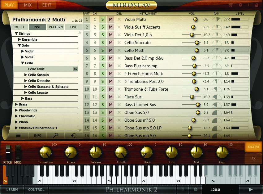 best software instruments miroslav