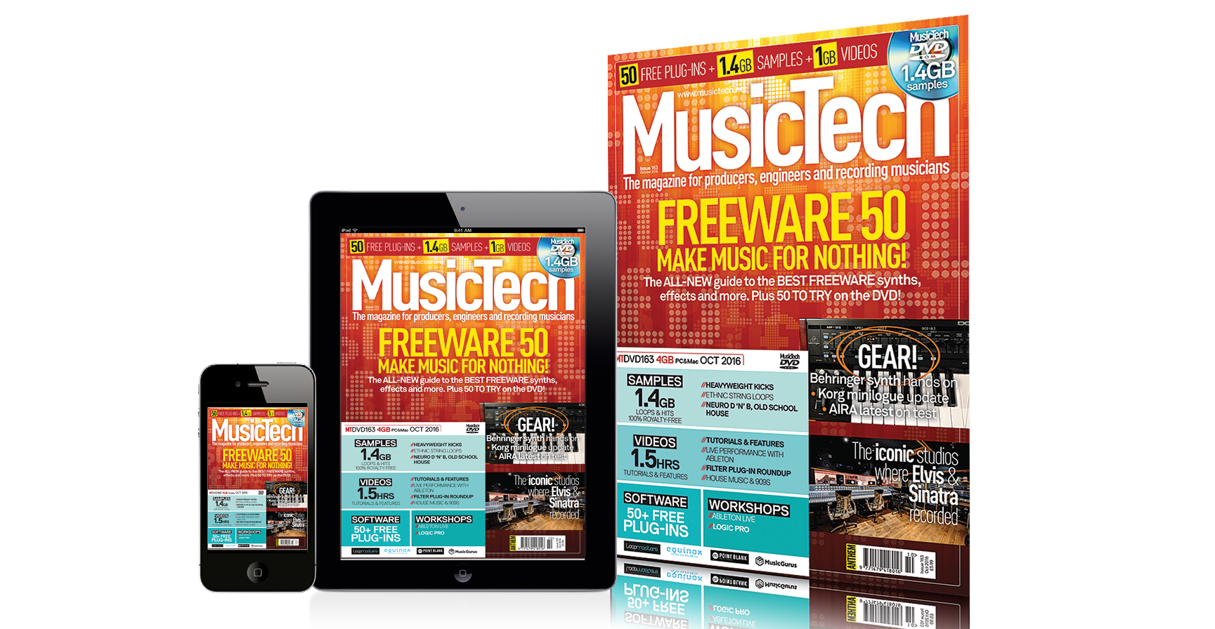 musictech magazine issue 163 the freeware 50 issue. Black Bedroom Furniture Sets. Home Design Ideas