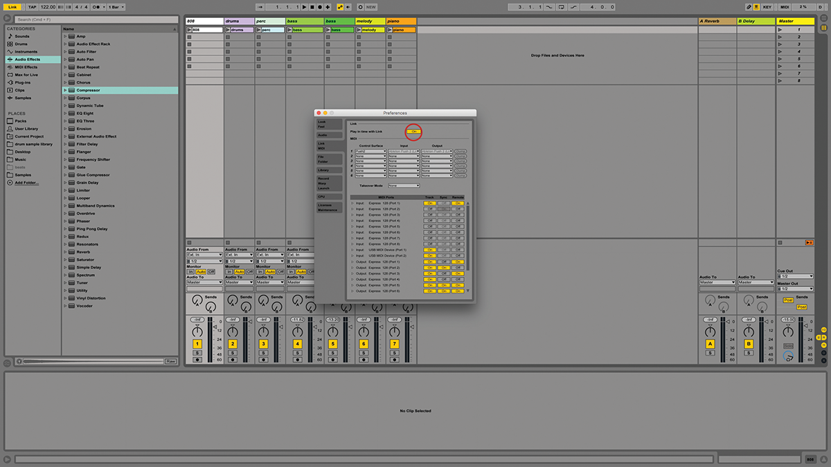 Ableton Live Tutorial: Sync Your Projects With Ableton Link