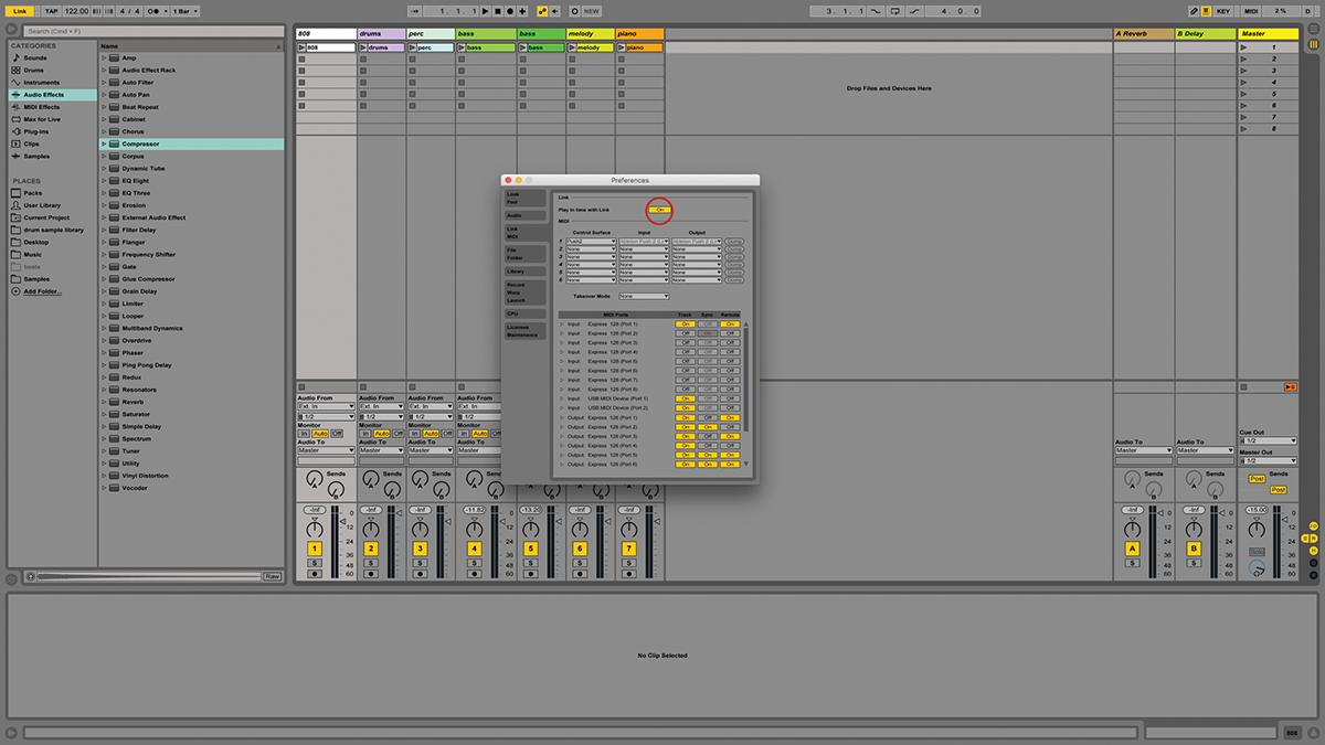 Ableton Link | G-Stomper Producer, Studio, Rhythm, and VA ...