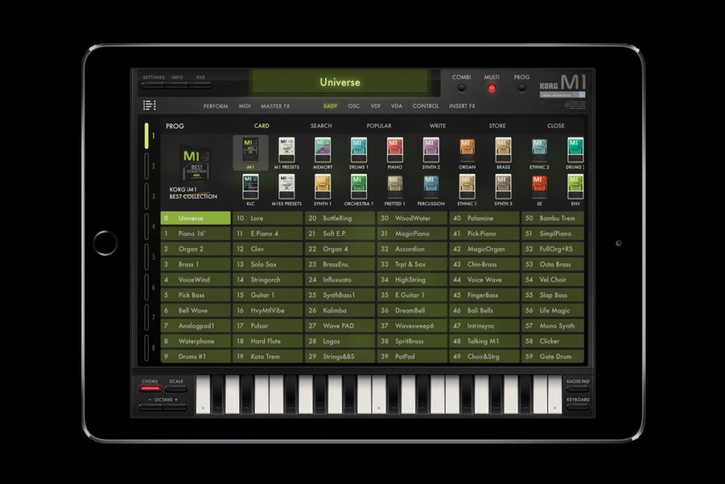 mobile synth - Korg iM1
