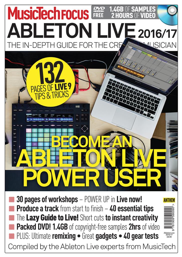 MusicTech Focus Ableton Live