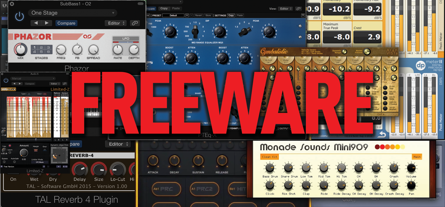 The Best Freeware for Music Makers 2017 - The Complete