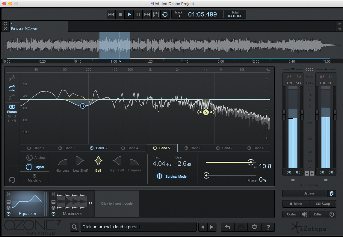 Mastering Tutorial: Mastering With iZotope Ozone 7
