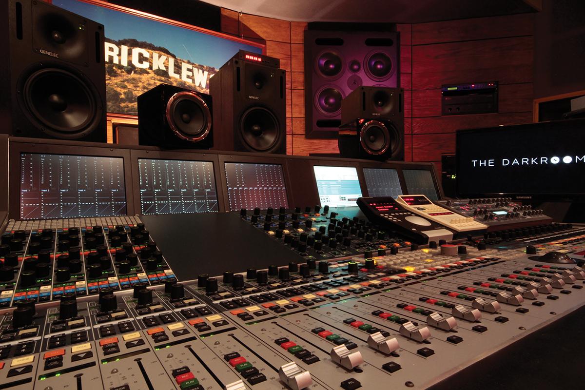 Darkroom Studios Desk