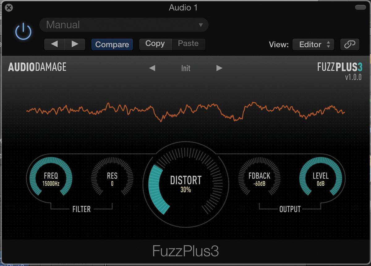 Freeware Effects - FuzzPlus 3