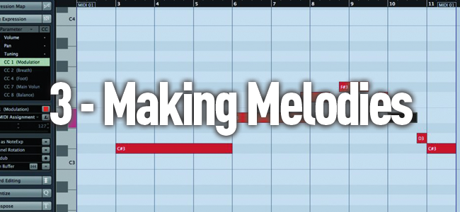 Making Melodies - How to Write a Song