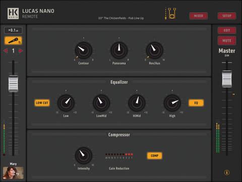 Lucas Nano 608i App
