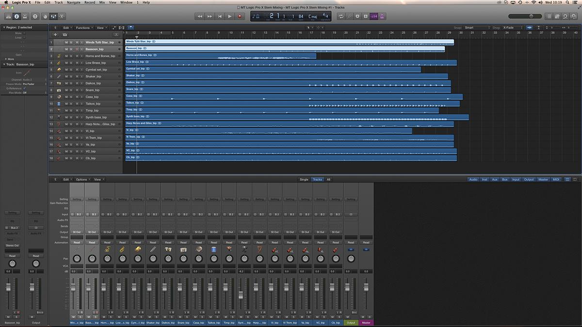 Logic Stem Mixing 1