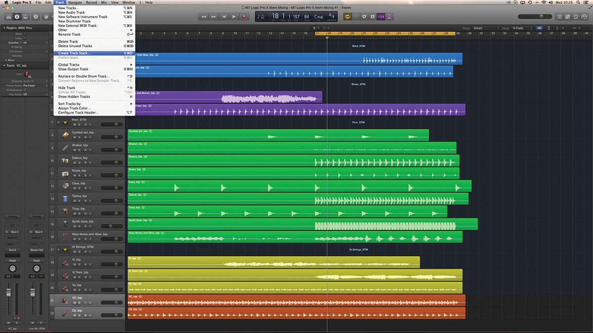 Logic Stem Mixing 3