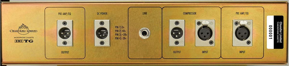 TG Microphone Cassette Rear