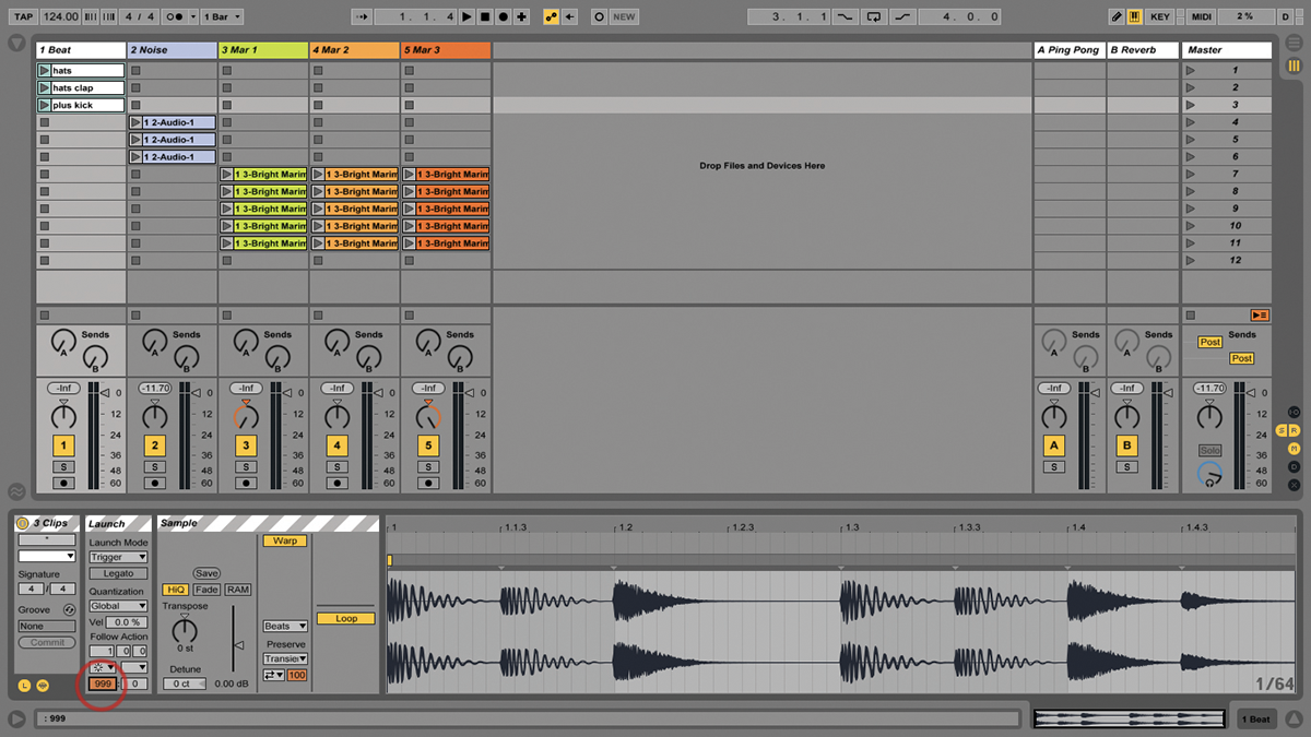 Ableton Live Follow Actions