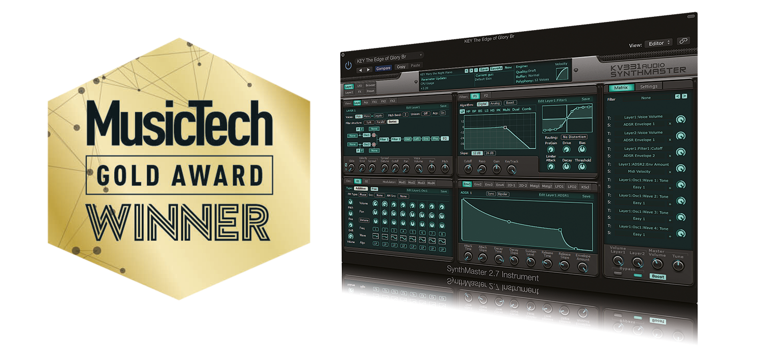 best software instrument SynthMaster