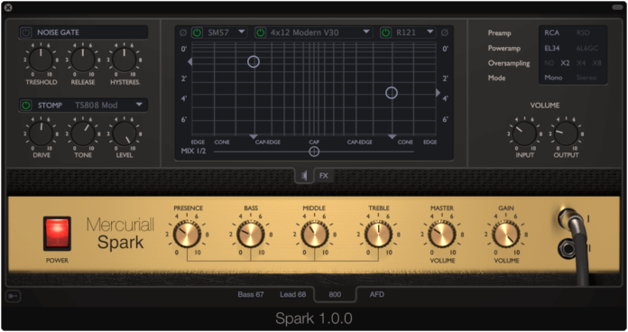 Image result for mercuriall audio spark