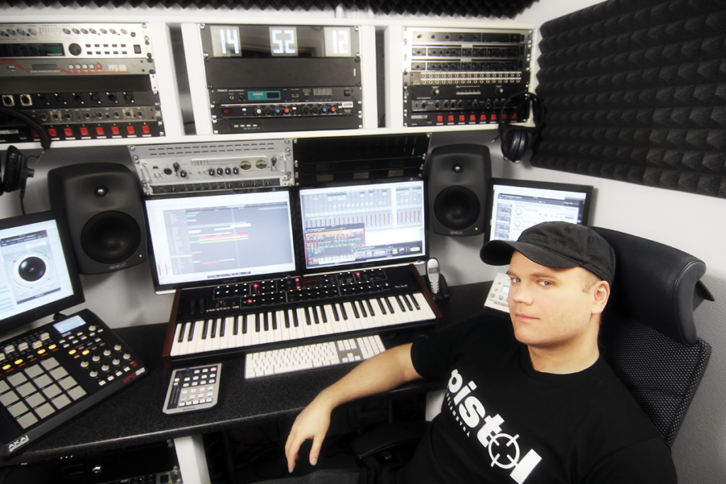 perfect studio setup