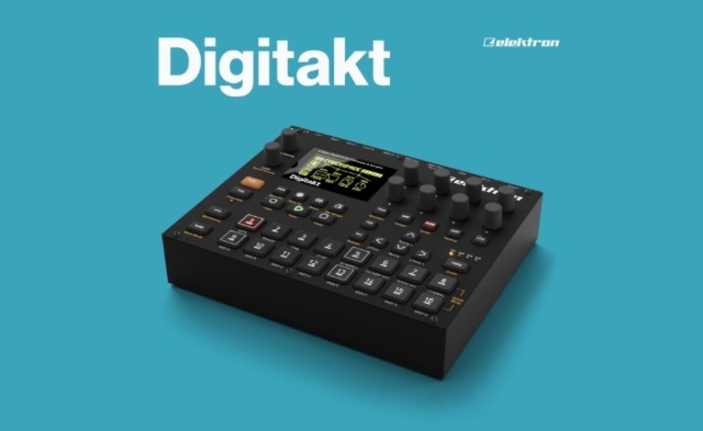 namm 2017 elektron reveal new 8 track drum machine digitakt. Black Bedroom Furniture Sets. Home Design Ideas
