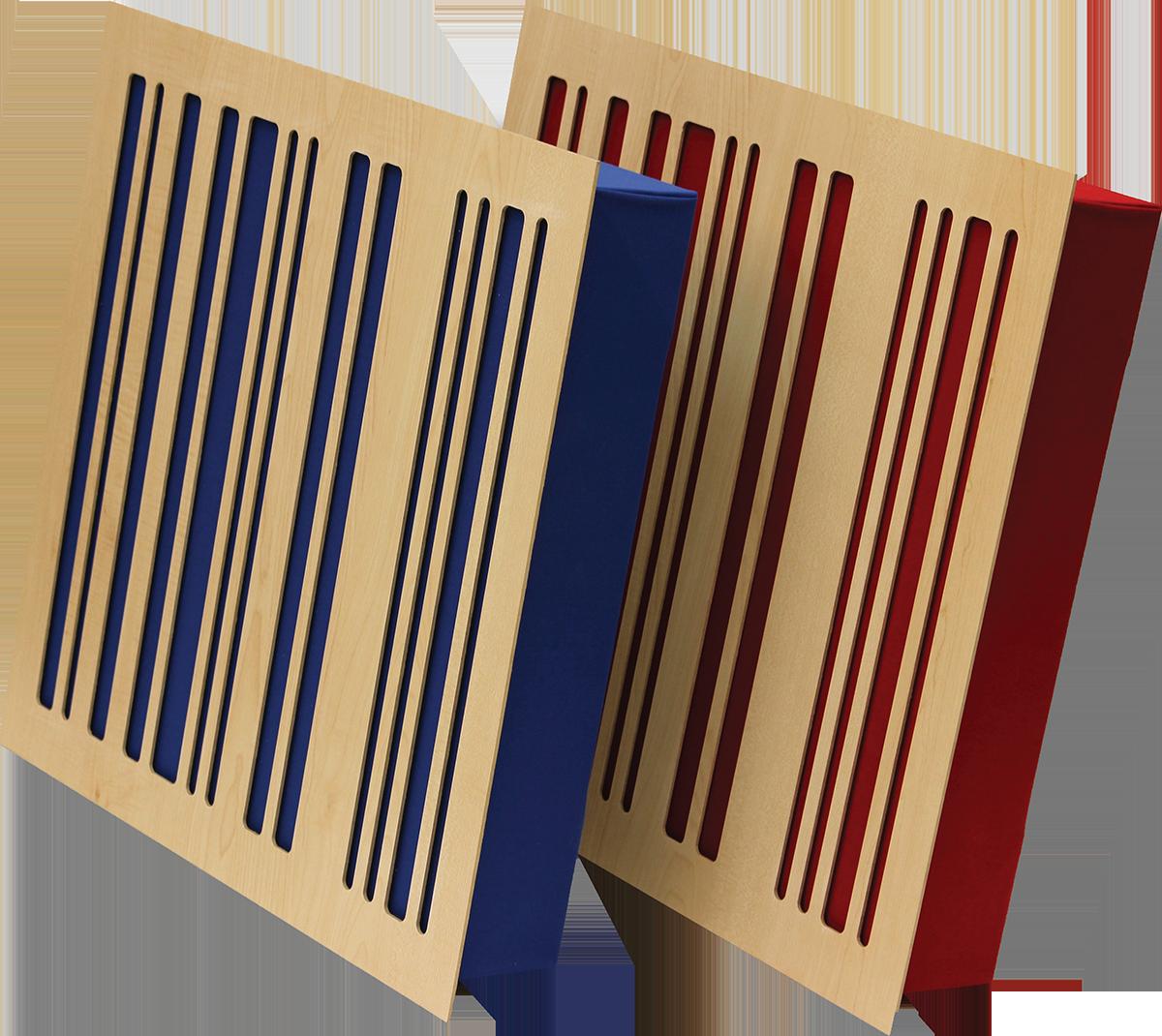 Alpha Panel Absorber/Diffusor
