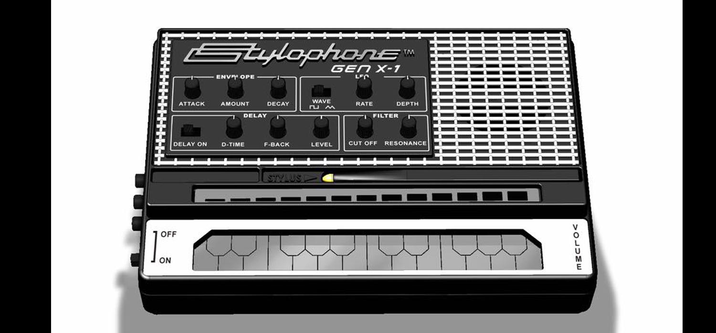 namm 2017 dubreq to unveil new stylophone gen x 1. Black Bedroom Furniture Sets. Home Design Ideas