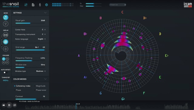 Ircam Lab Brings The Snail Tuning Software to Windows and iOS