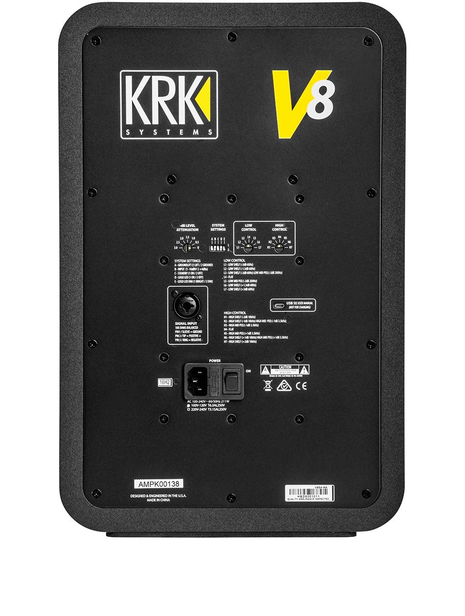 KRK V-Series 4 back