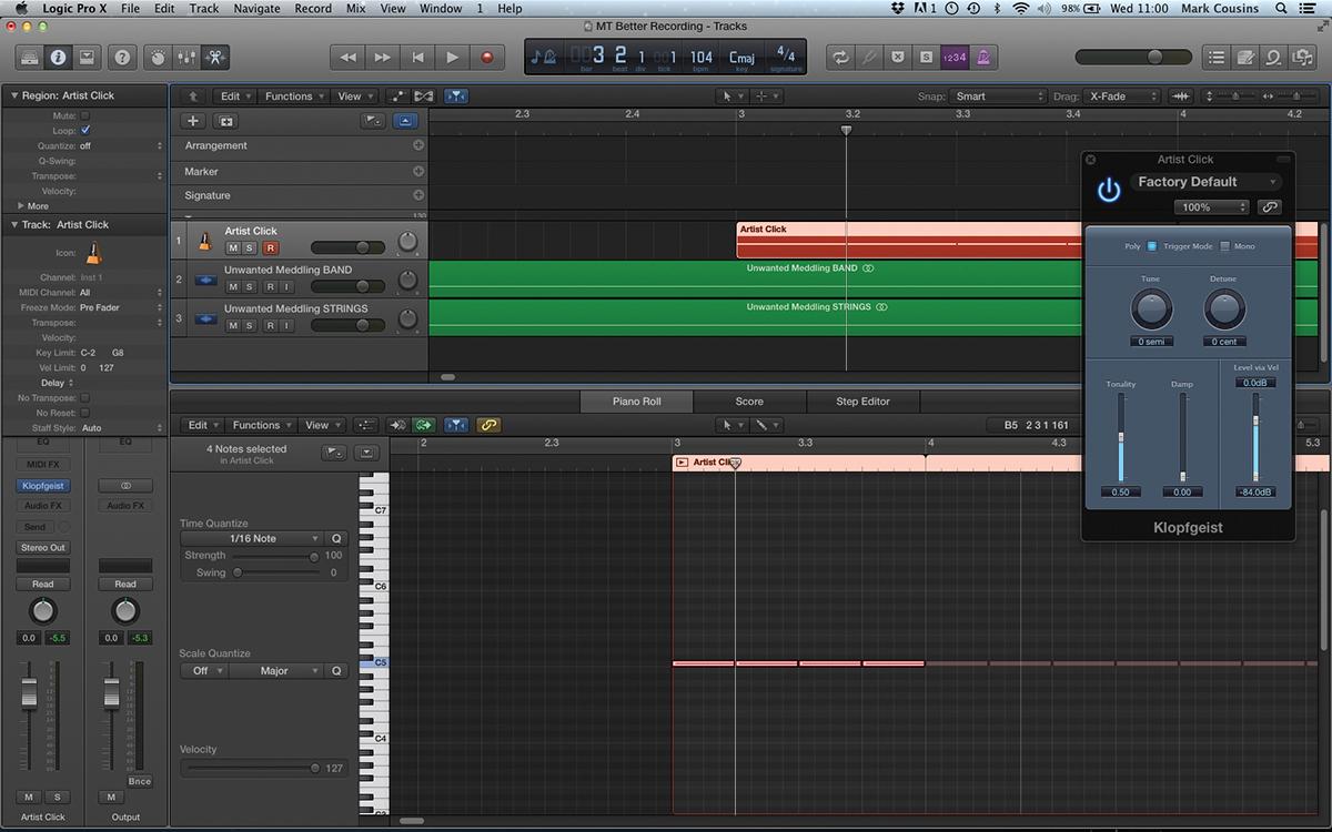 Improve your Recording Workflow