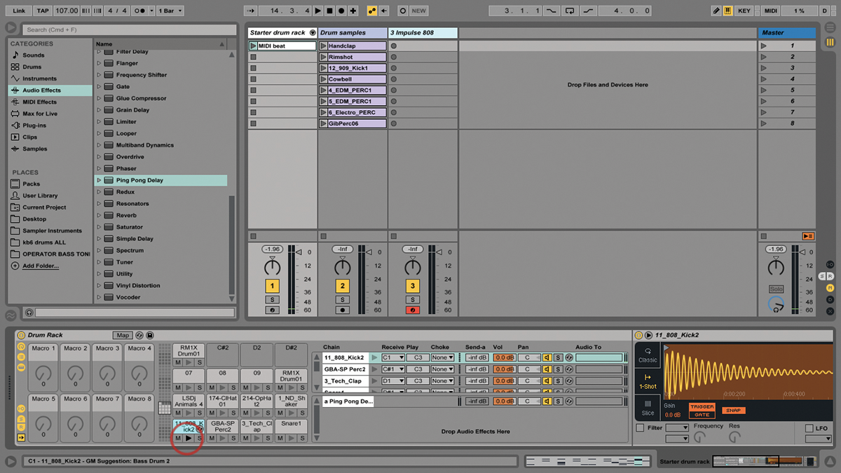 Ableton Live Tutorial: Creating Custom Drum Racks
