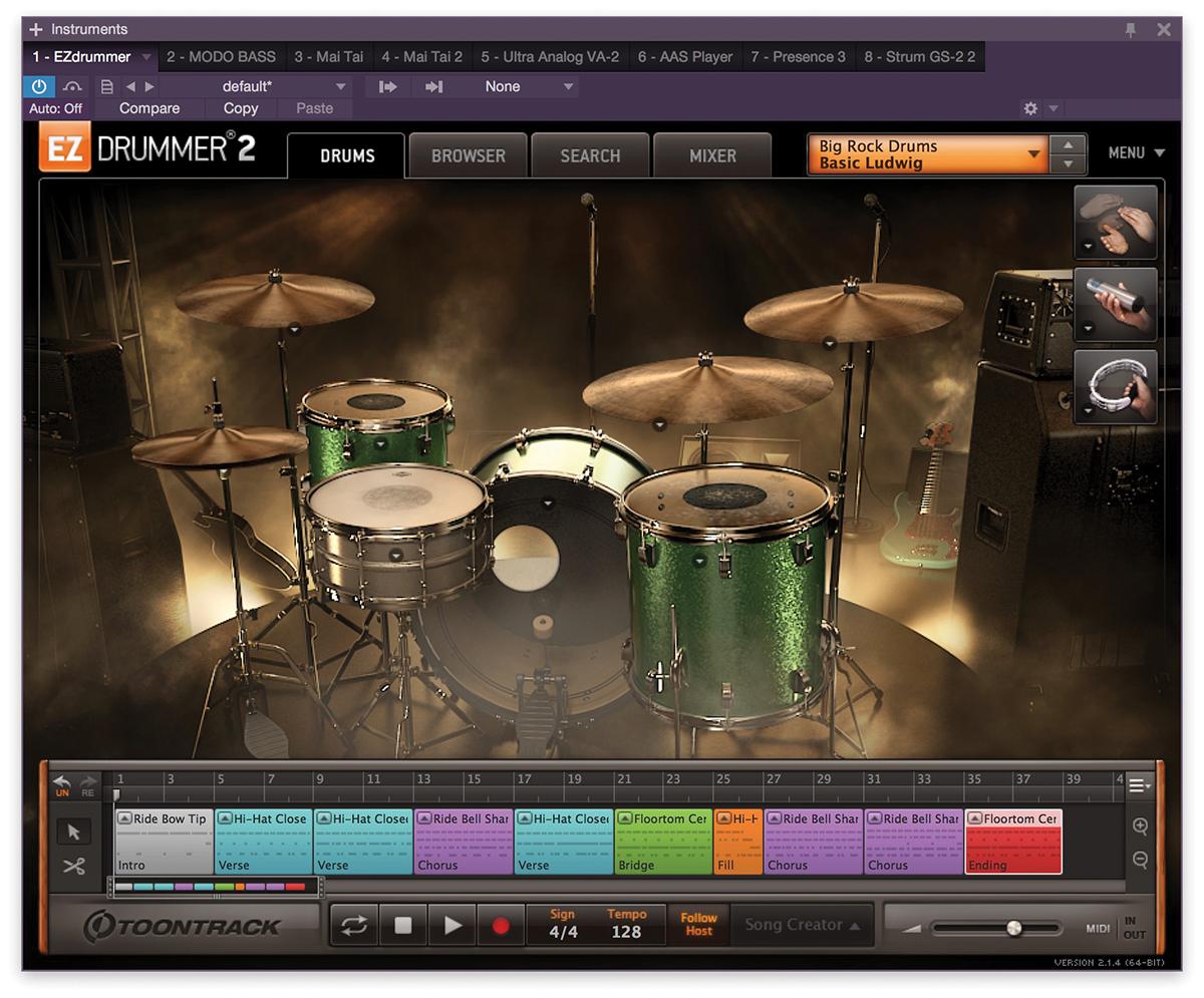 Big Rock Drums Overview