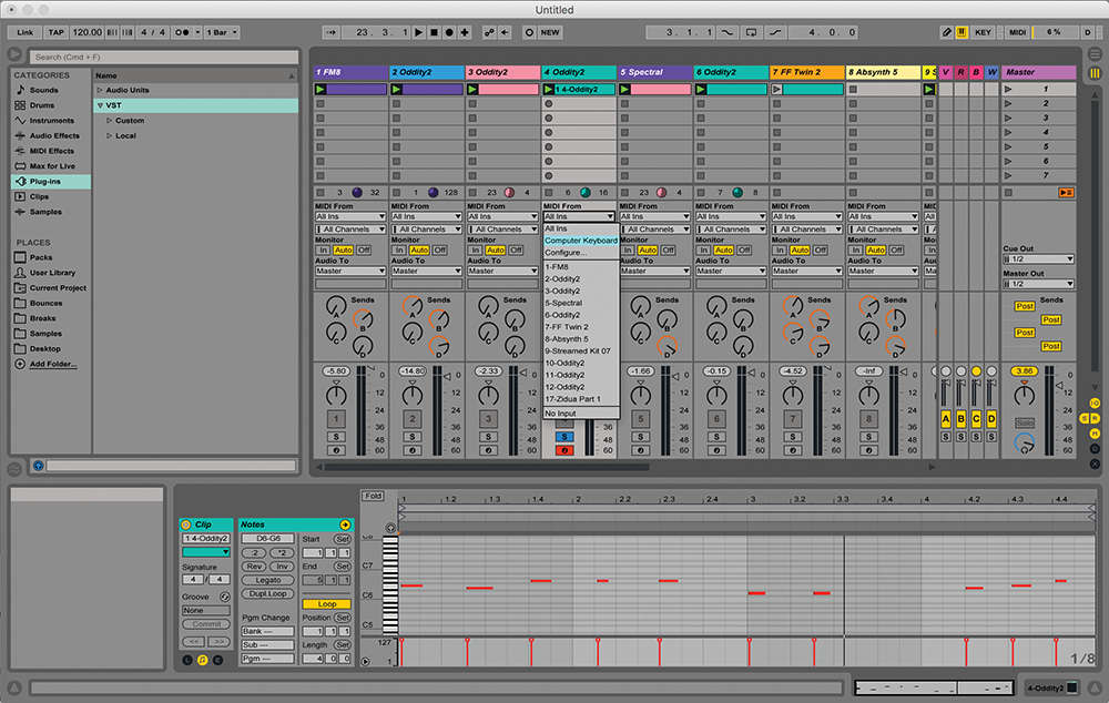The Lazy Guide to Ableton Live: Part 2 - The Virtual Keyboard