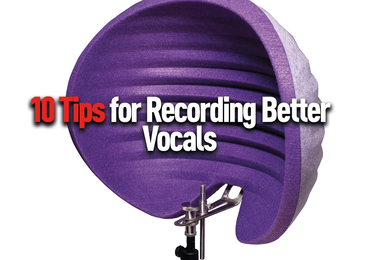 recording better vocals
