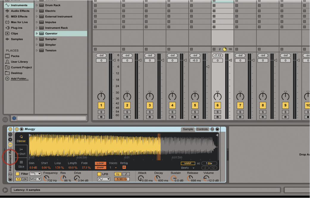 Put Your Projects On A Diet: Reduce Your Track Count in Ableton Live