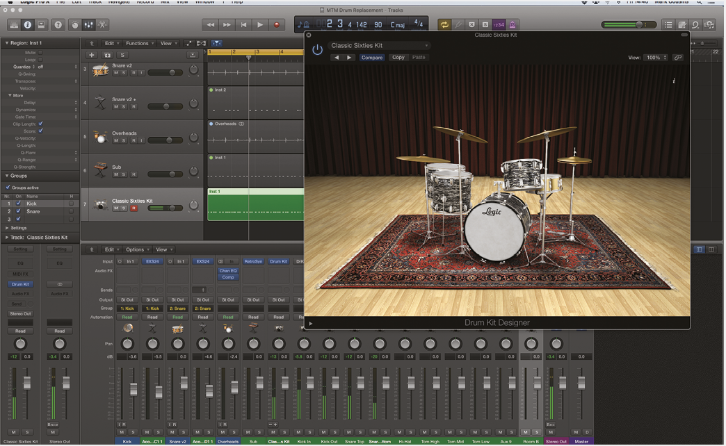 Better drums in Logic Pro X - Step By Step (Continued)