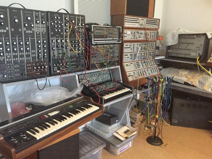 Will Gregory's modular setup