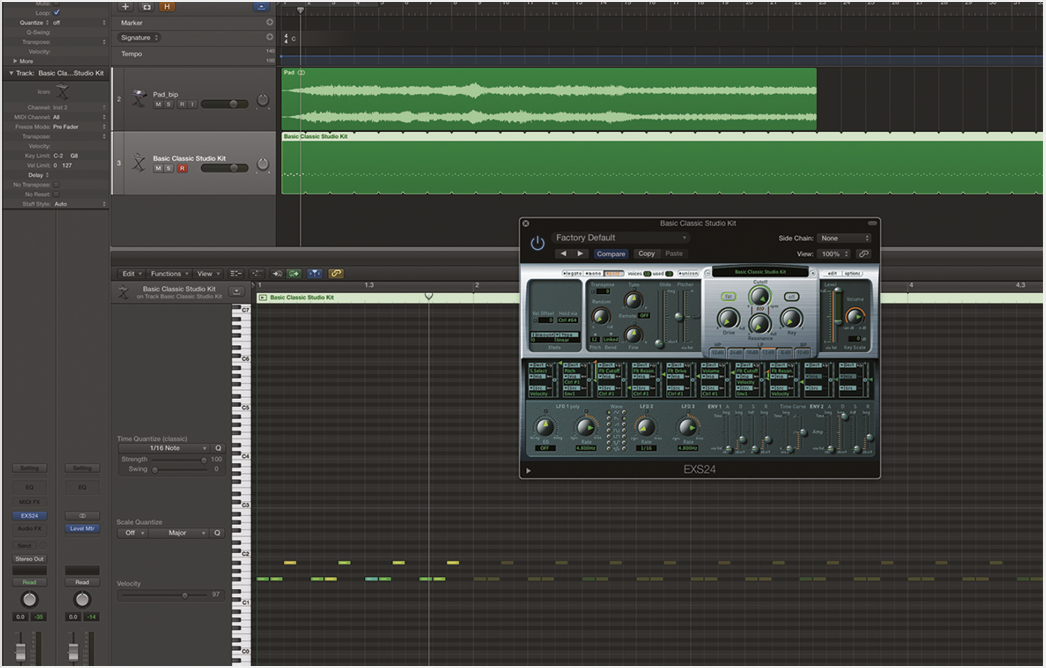 Creating Pulsing Effects in Logic Pro X