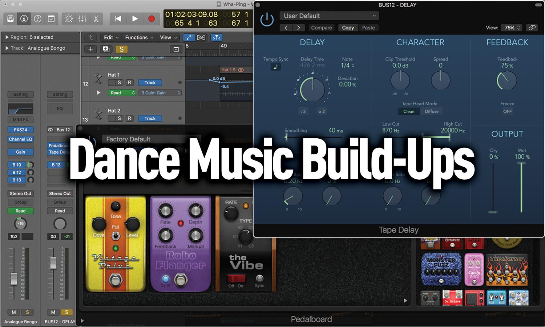 Create Dance Music Build-Ups In Logic
