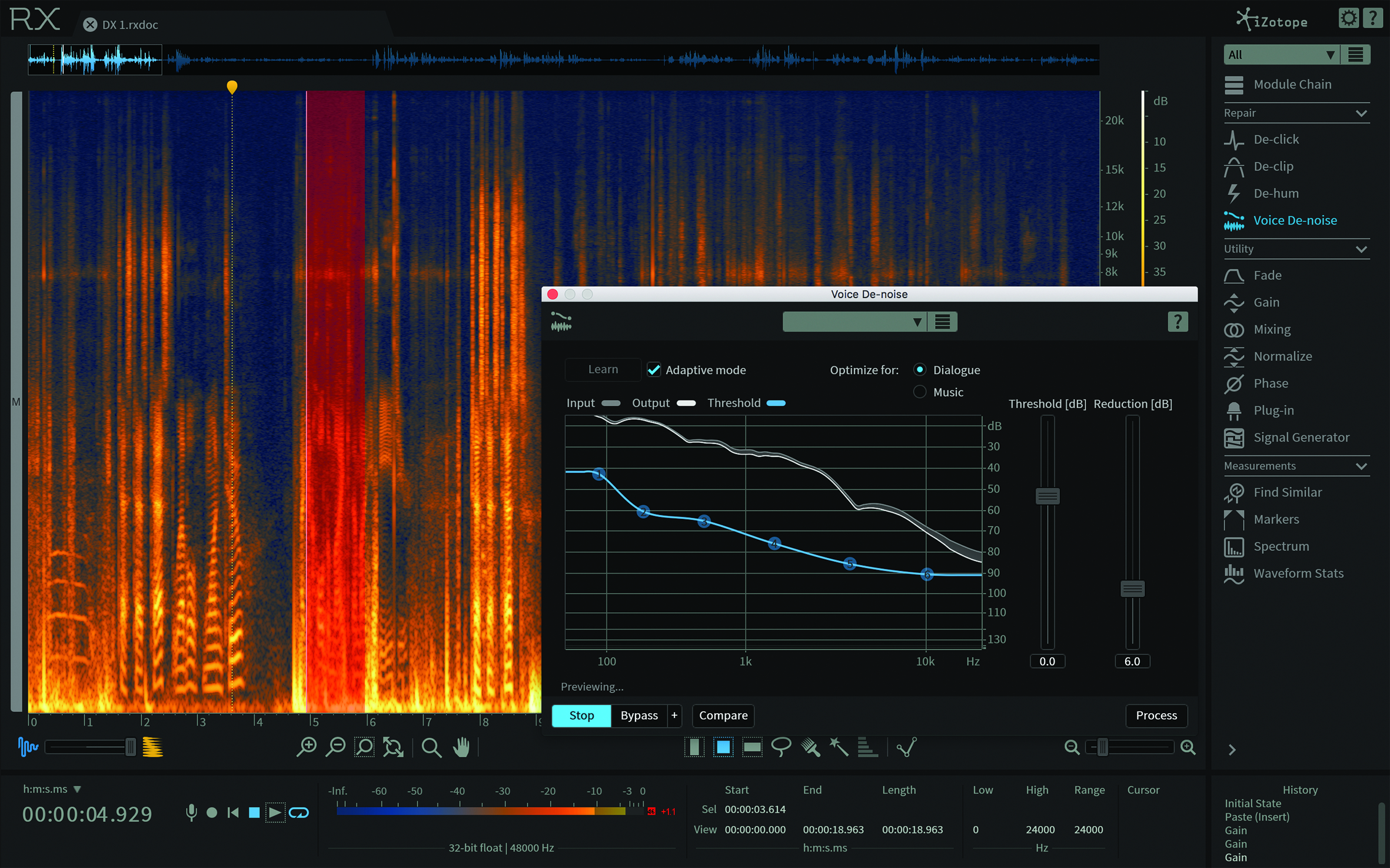 iZotope RX 6 Advanced Review - An Essential Tool