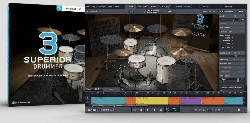 Toontrack Superior Drummer 3 Announced - Ultimate Drum