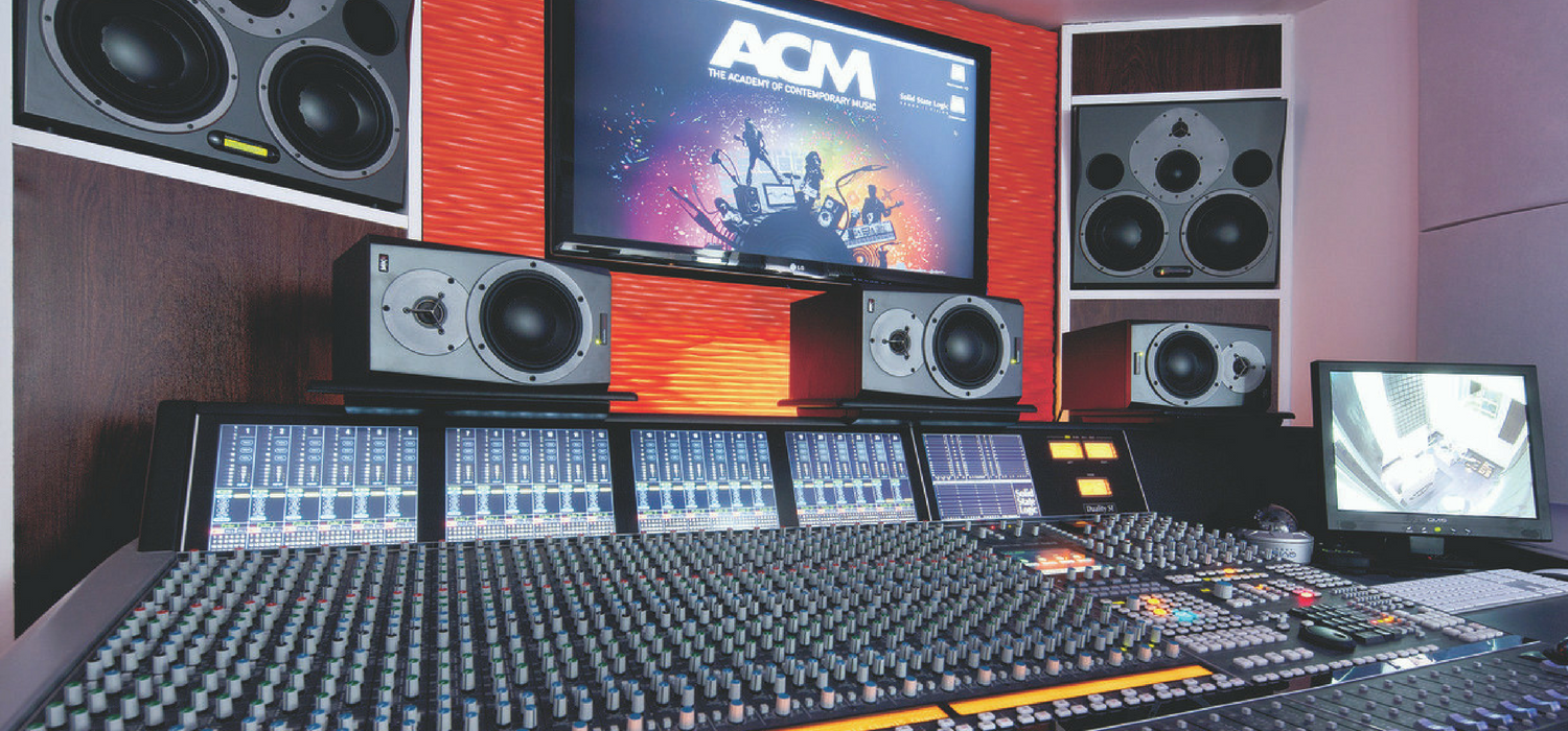 acm guidlford has a brand new recording facility. Black Bedroom Furniture Sets. Home Design Ideas