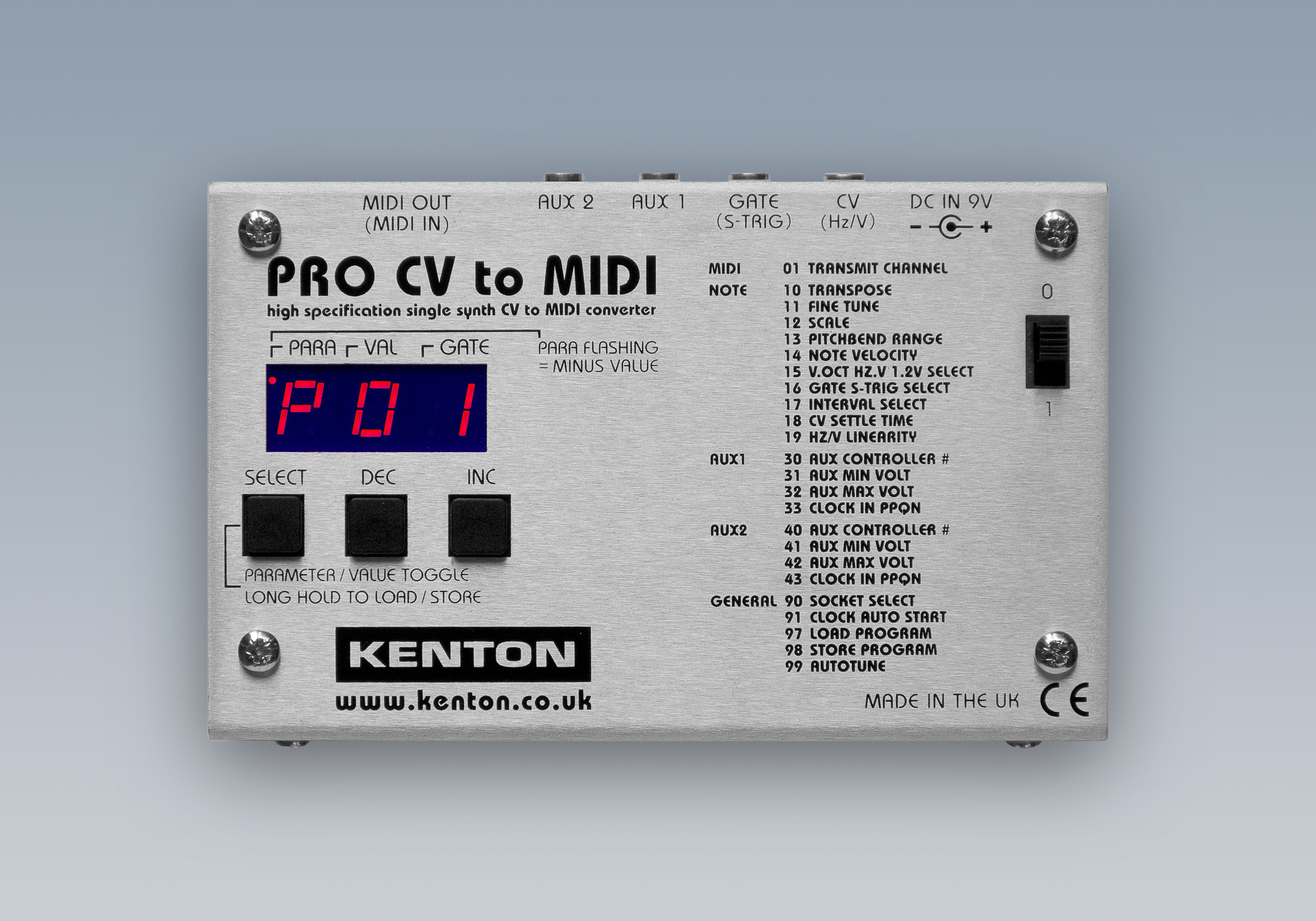 cv to midi Capture The Output Of Any Instrument With Pro CV To MIDI
