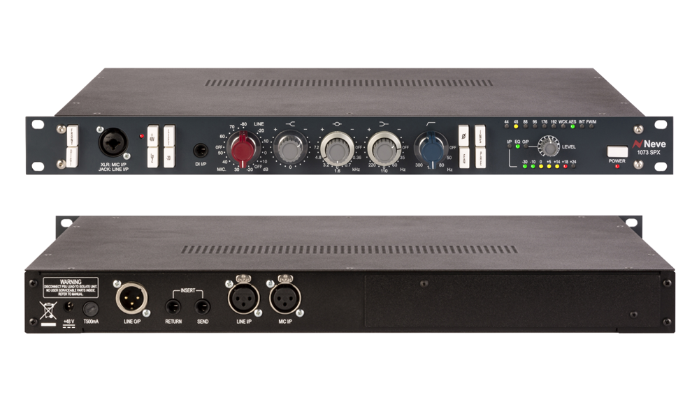 AMS Neve Resurrects A Classic With The 1073SPX