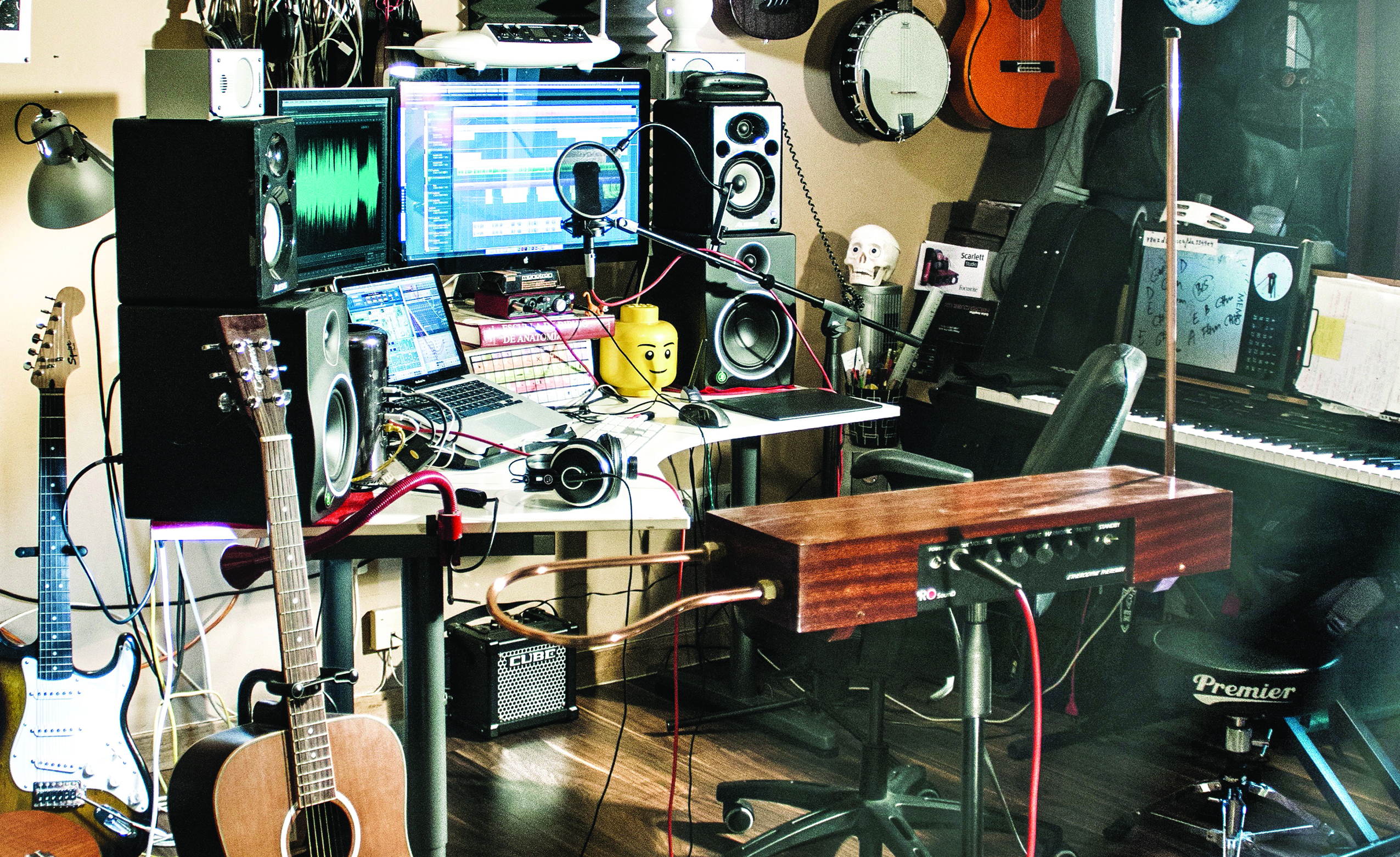 6 More Ways To Make Your Studio Look Cool Recording Wiring Theres So Much Talk About Vintage Gear These Days And Even If Youre Still Undecided On Its Merits Whether You Should Use It Emulate