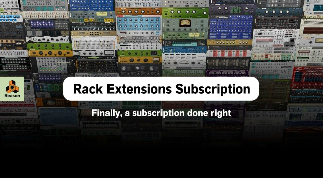 rack extensions subscription