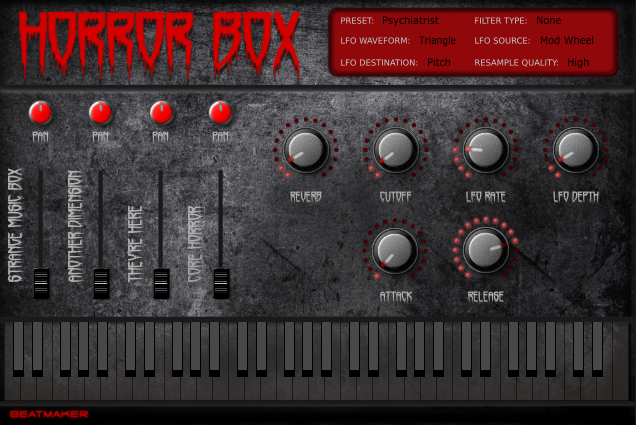 Create Spooky Sounds With BeatMaker's Free Horror Box Plug-In