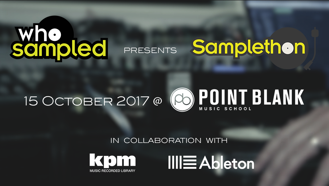 Beat The Competition At Point Blank/WhoSampled's 'Samplethon'