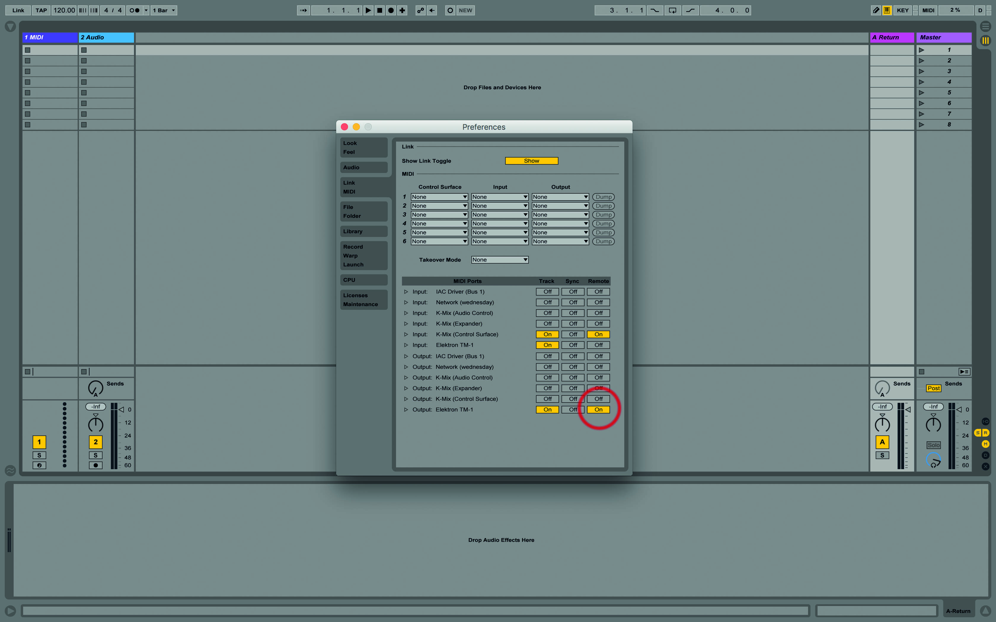 Using Ableton Live With Drum Machines