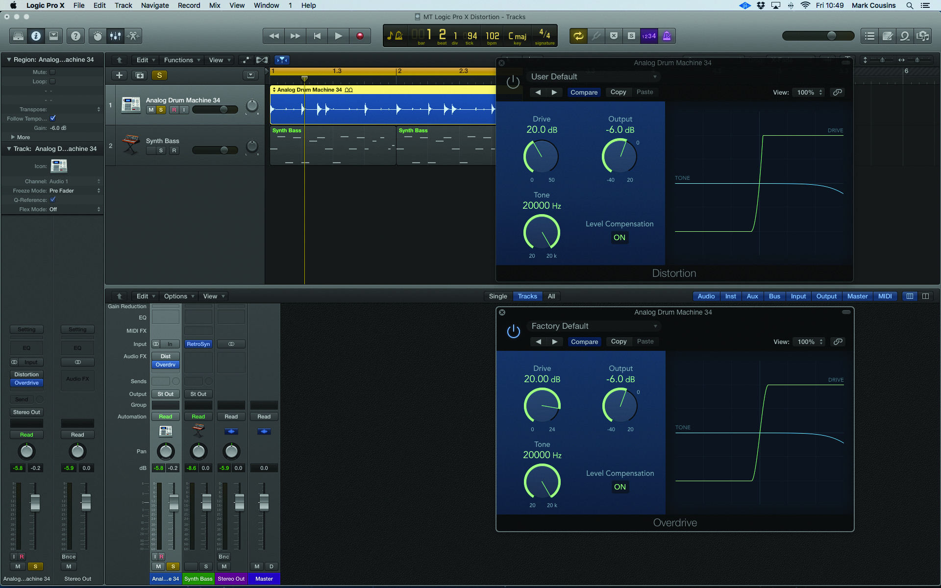 Learn How To Create Amazing Distortion Sounds In Logic Pro X