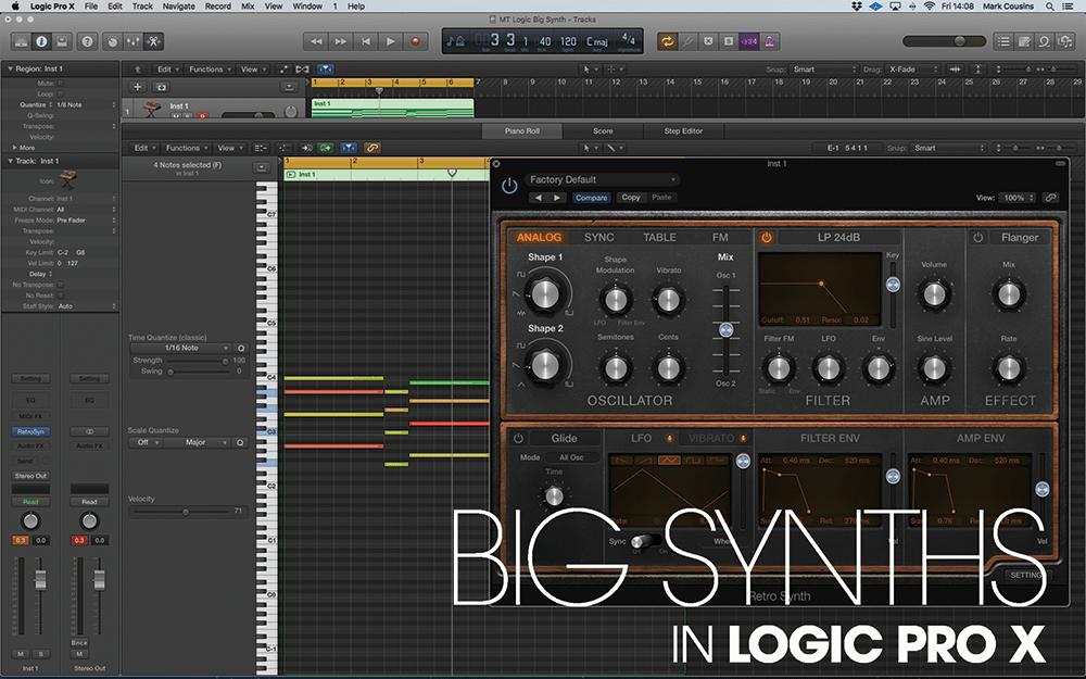 big synths