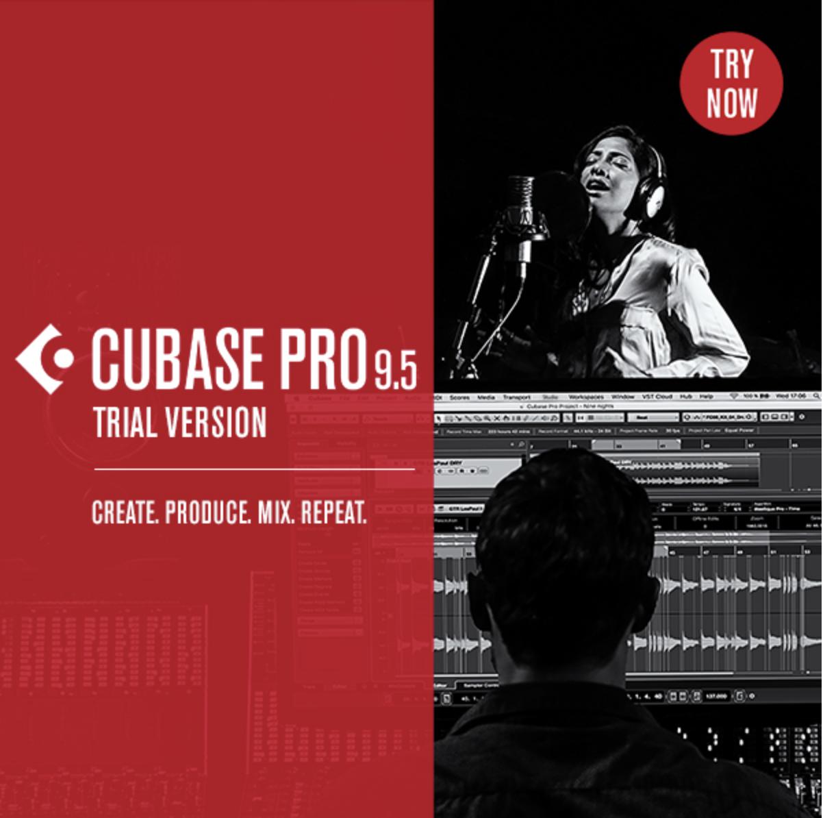 cubase 9.5 trial