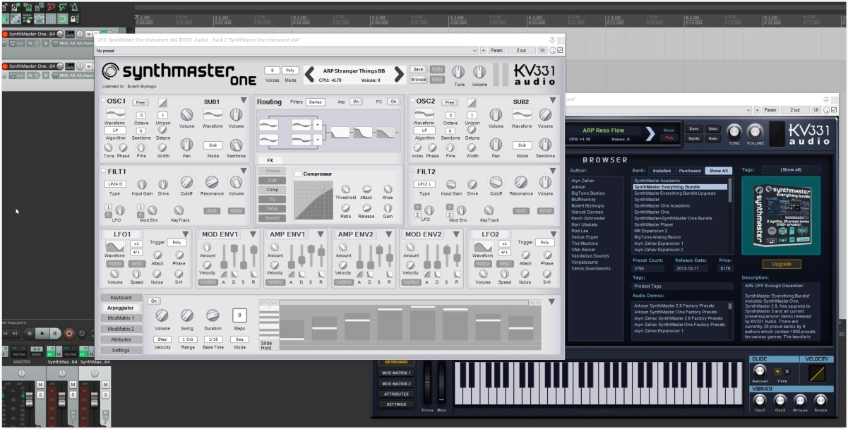 synthmaster one v1.1