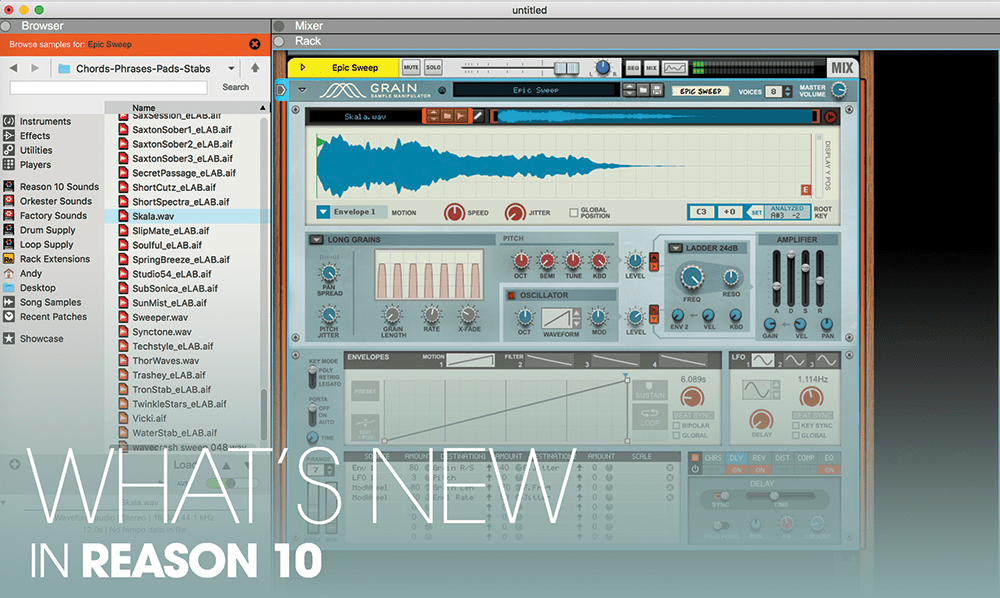 new in reason 10